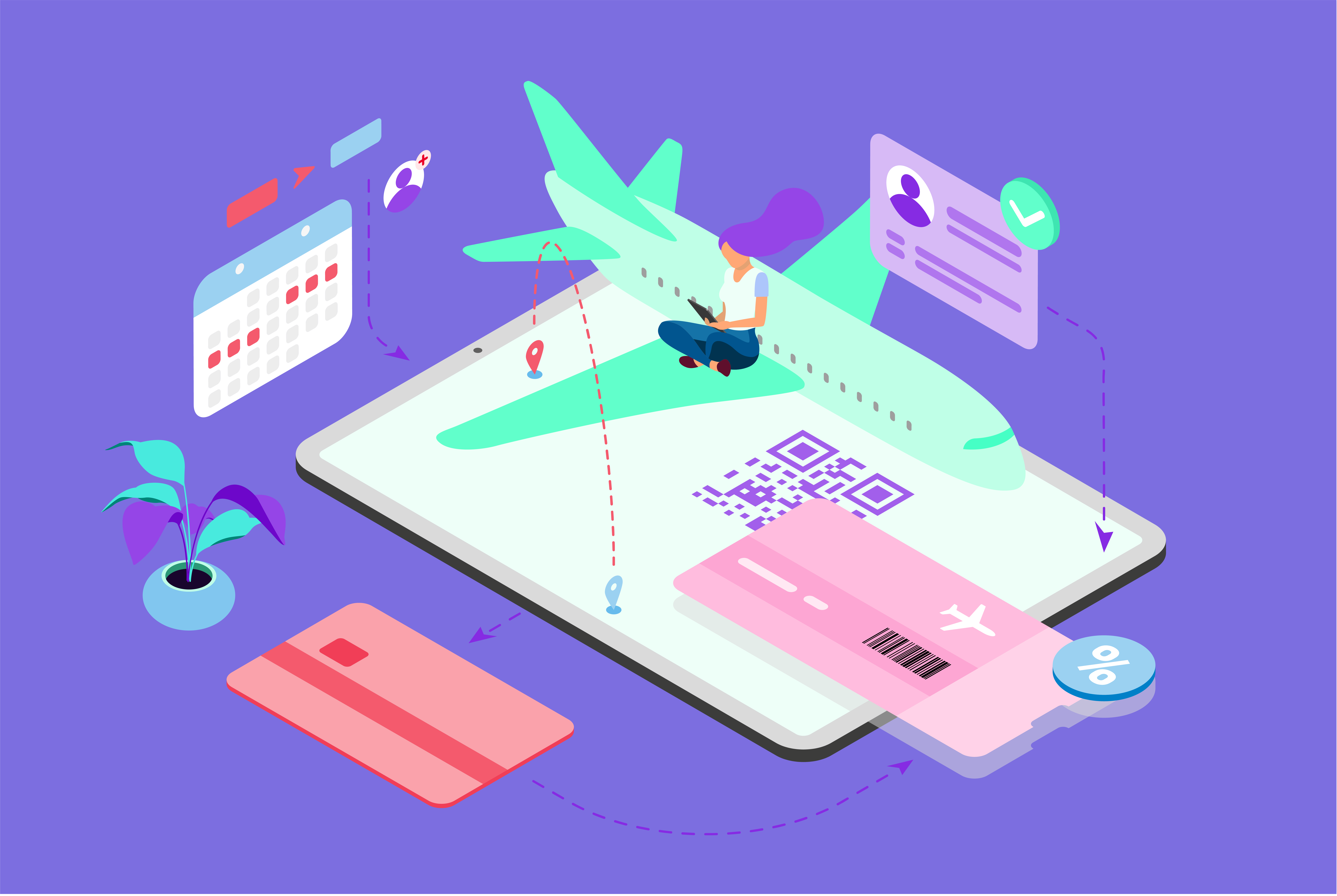 travel and hospitality booking app development