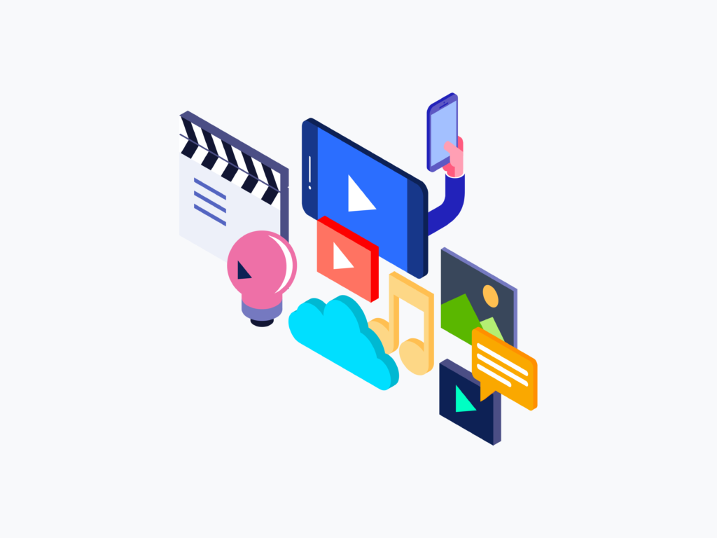 Custom streaming apps and web software