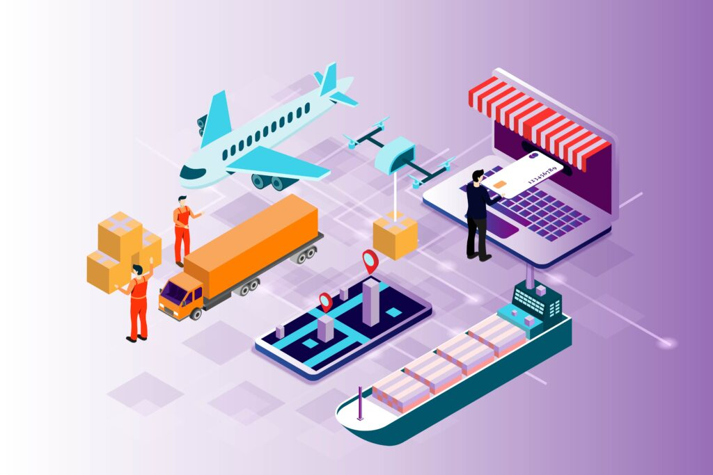 Shipping and logistics custom technology solutions
